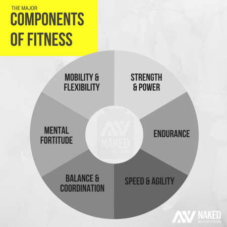 NAKED - COMPONENTS OF FITNESS